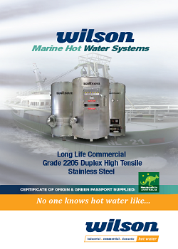 Wilson Marine Hot Water Systems Brochure