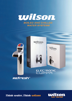 Wilson Refresh and Electronic Cuppa